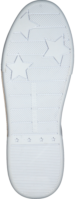 Witte TOMMY HILFIGER Lage sneakers BRANDED OUTSOLE METALLIC  - large