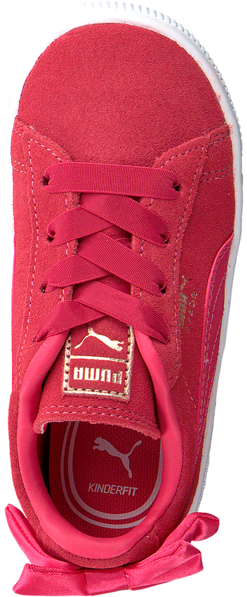 roze PUMA Sneakers SUEDE BOW AC PS/INF  - larger