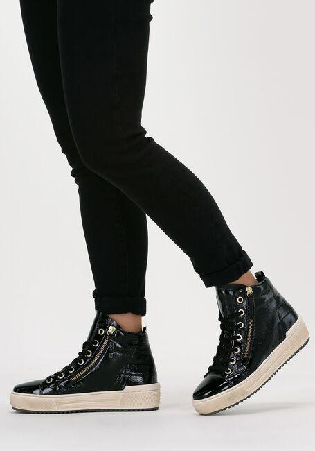 Zwarte GABOR Hoge sneakers 488 - large
