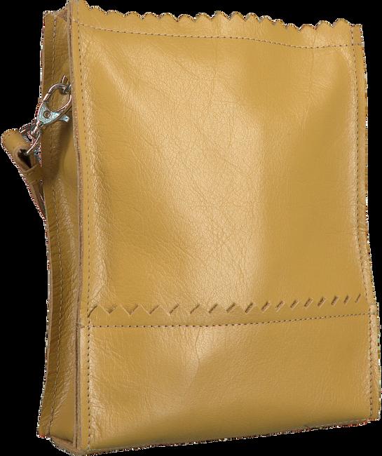Gele MYOMY Schoudertas MY PAPER BAG BAGGY MEDIUM  - large