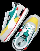 Gele PUMA Lage sneakers FUTURE RIDER PLAY ON PS  - medium