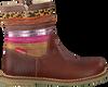Cognac SHOESME Lange laarzen CR7W101  - small