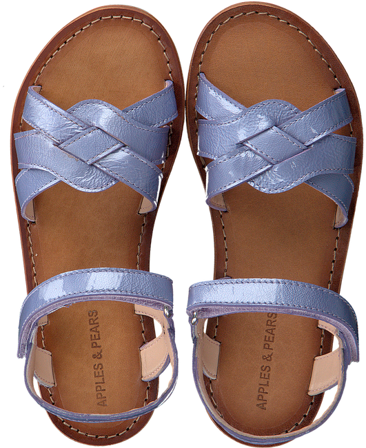 Paarse APPLES & PEARS Sandalen FANNY  - large