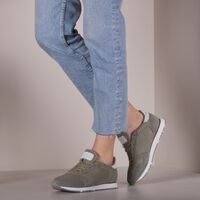 Groene WODEN Lage sneakers YDUN SUEDE MESH II  - medium