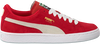 Rode PUMA Sneakers SUEDE JR - small