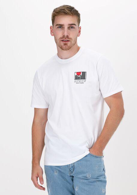Witte EDWIN T-shirt SUN BUILDINGS TS  - large