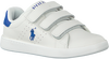 Witte POLO RALPH LAUREN Sneakers QUILTON EZ - small