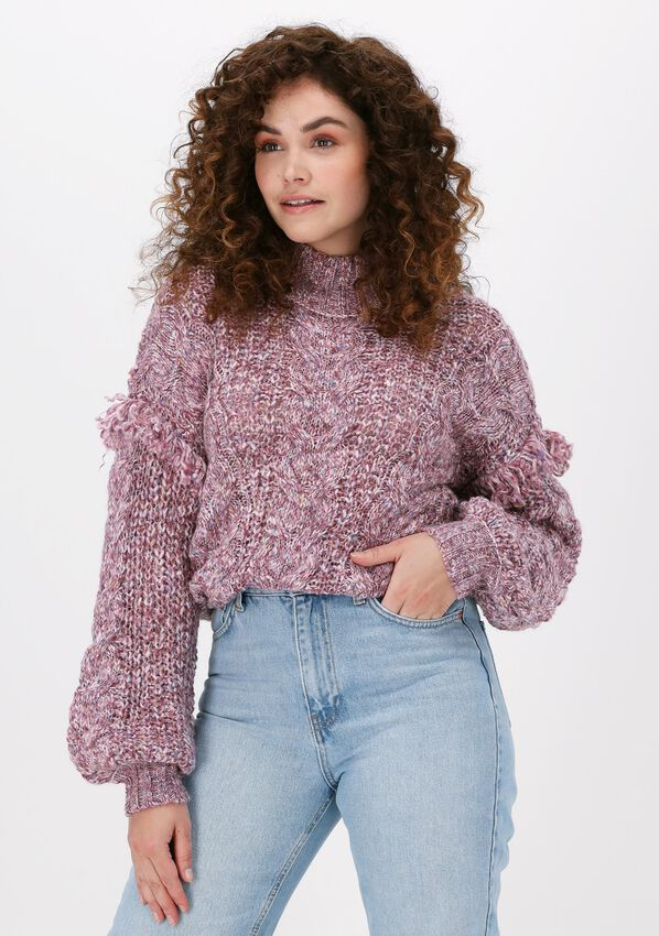 Lila OBJECT Trui MELANISE L/S KNIT PULLOVER  - larger