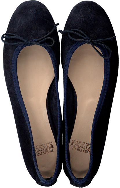Blauwe FRED DE LA BRETONIERE Ballerina's 140010008 - large