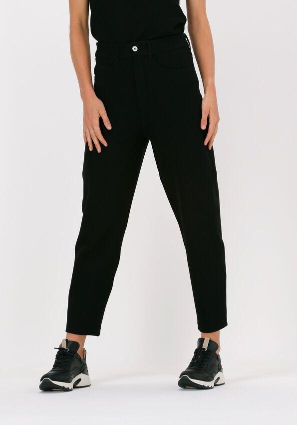 Zwarte VANILIA Pantalon STRUC TAPERE  - larger