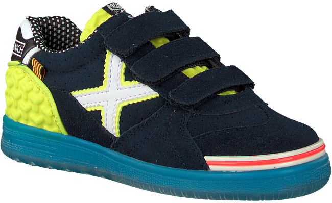 Blauwe MUNICH Lage sneakers G3 VELCRO  - large