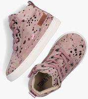 Roze TON & TON Hoge sneaker LAILA  - medium