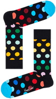 Zwarte HAPPY SOCKS Sokken BIG DOT  - medium
