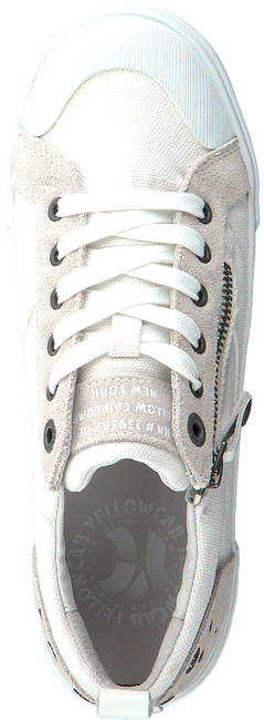 Witte YELLOW CAB Sneakers Y22082  - large