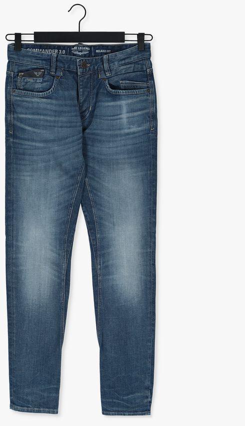 Blauwe PME LEGEND Slim fit jeans COMMANDER BLUE TINTED DENIM - larger