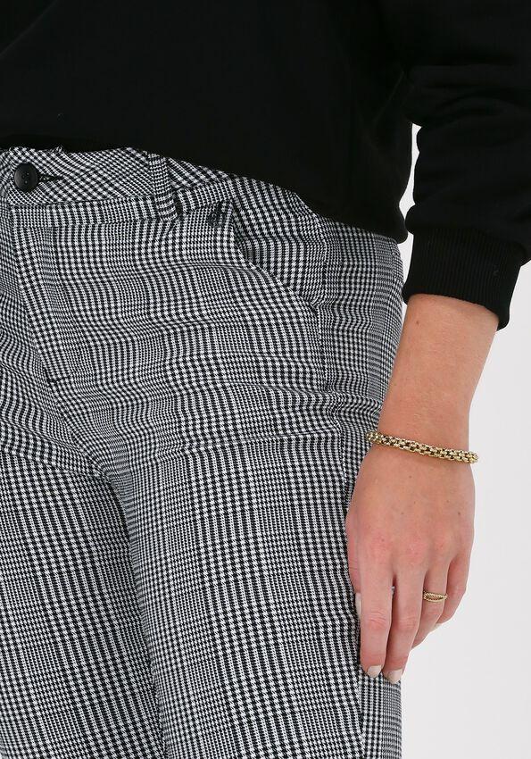 Zwarte MINUS Pantalon NEW CARMA CHECK 7/8 PANTS - larger