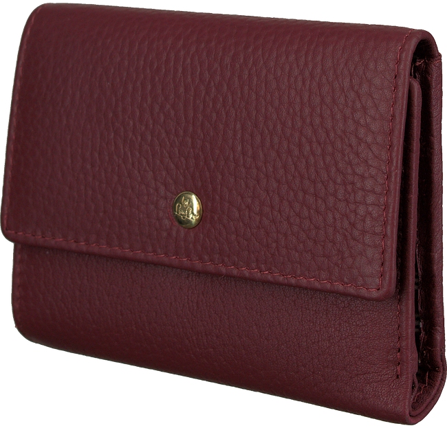 Rode LOULOU ESSENTIELS Portemonnee SLB6XS GIRL BOSS GOLD - large