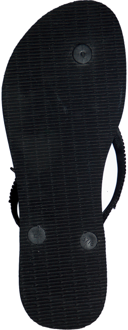 Zwarte HAVAIANAS Slippers SLIM METAL MESH  - large