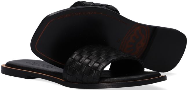 Zwarte SHABBIES Slippers 170020171  - large