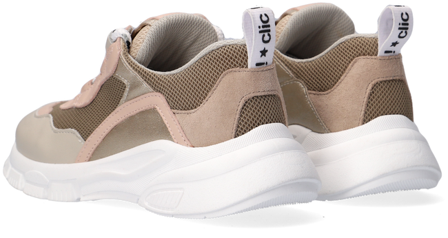 Beige CLIC! Lage sneakers CL-20309  - large