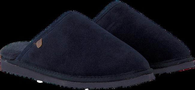 Blauwe WARMBAT Pantoffels CLASSIC UNISEX SUEDE  - large