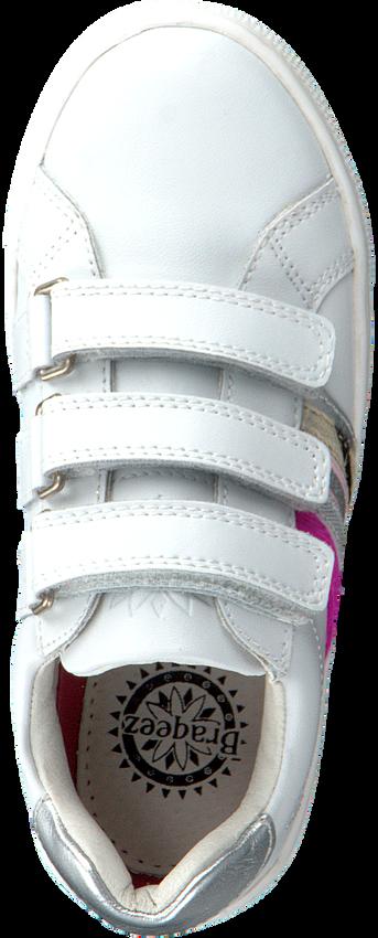 Witte BRAQEEZ Lage sneakers LOTTE LOUWIES  - larger