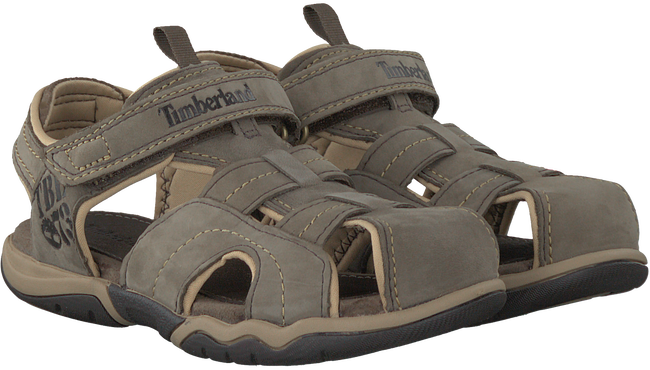 Taupe TIMBERLAND Sandalen OAK BLUFFS LEATHER FISHERMAN  - large