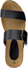 Zwarte RED RAG Slippers 78054 - small