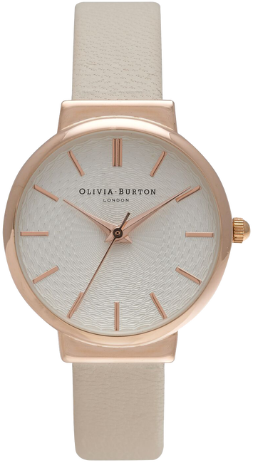 Roze OLIVIA BURTON Horloge THE HACKNEY - large