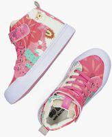 Roze GO BANANAS Hoge sneaker ALPACA  - medium