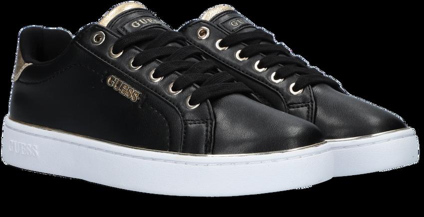 Zwarte GUESS Lage sneakers BECKIE  - larger