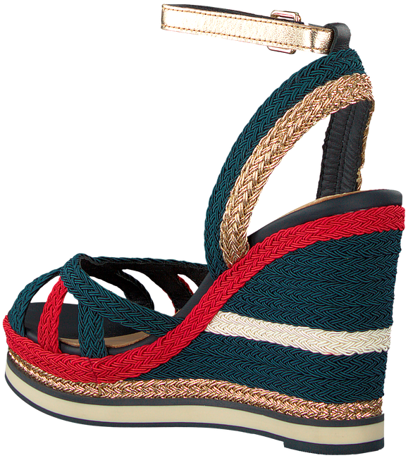 TOMMY HILFIGER ESPADRILLES CORPORATE WEDGE SANDAL SPORTY - large