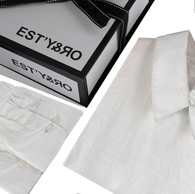 Witte EST'Y&RO Kraagje EST'91 - large