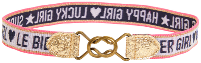 Witte LE BIG Riem SEMIRA BELT  - large