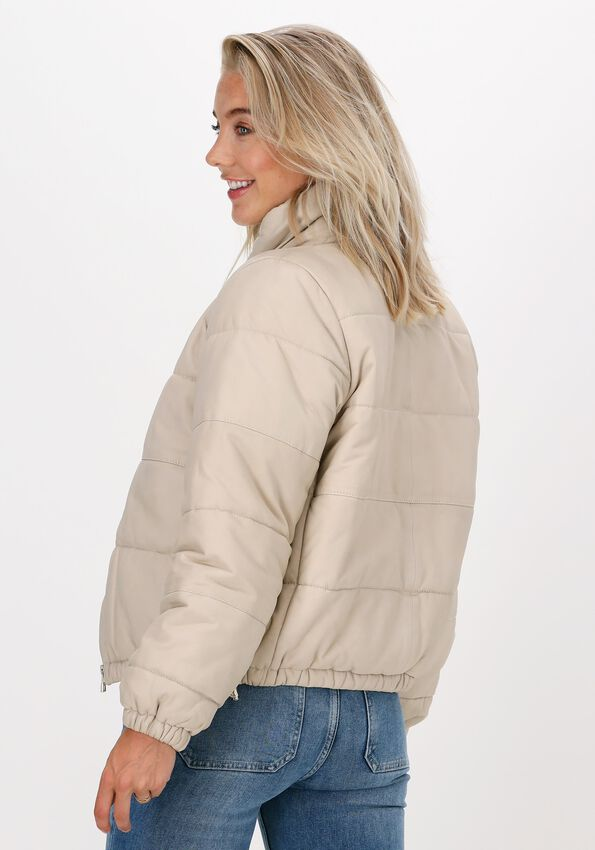 Witte GOOSECRAFT Gewatteerde jas GCC CHARLIE PUFFER - larger