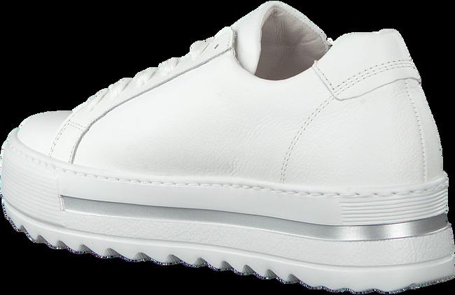Witte GABOR Lage sneakers 498  - large