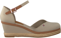 Grijze TOMMY HILFIGER Sandalen BASIC CLOSED TOE MID WEDGE  - medium