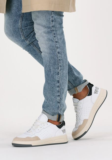 Witte WOMSH Lage sneakers INK LOW  - large