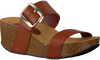 Cognac RED-RAG Slippers 78054 - small