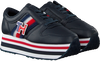 Blauwe TOMMY HILFIGER Lage sneakers TOMMY CUSTOMIZE FLATFORM  - small