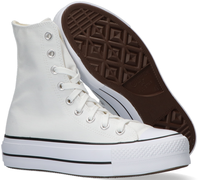 Witte CONVERSE Hoge sneaker CHUCK TAYLOR ALL STAR LIFTXHI  - large