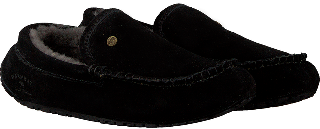 Zwarte WARMBAT Pantoffels EARLWOOD  - large