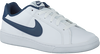 Witte NIKE Sneakers COURT ROYALE SUEDE MEN  - small