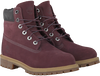 Rode TIMBERLAND Enkelboots 6IN PRM WP BOOT KIDS  - small