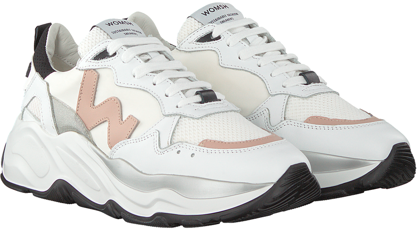 Witte WOMSH Lage sneakers FUTURA  - larger