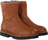 Cognac SHABBIES Enkelboots 181020130 - small