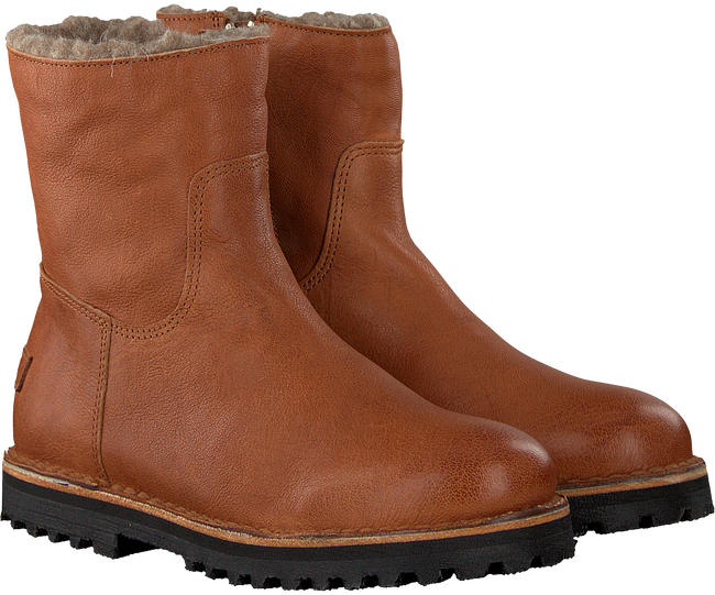 Cognac SHABBIES Enkelboots 181020130 - large