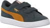 Grijze PUMA Sneakers SUEDE CLASSIC INF - small