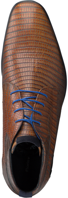 Cognac FLORIS VAN BOMMEL Nette schoenen 10879  - large