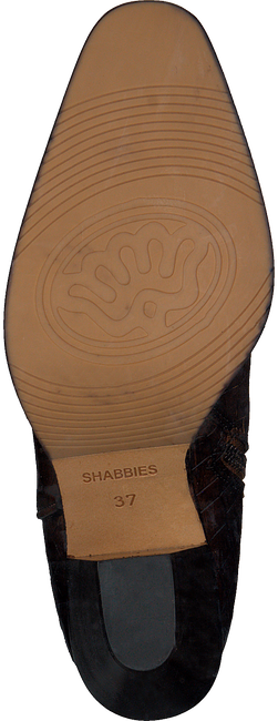 Cognac SHABBIES Enkellaarsjes 183020163 - large